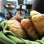 Warm croissants!