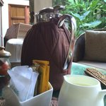 Coffee, part the morning levee ritual