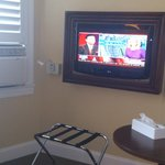 TV and A/C in our room