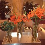 Hotel Lobby - Gorgeous Flowers