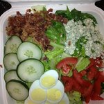 Very good salad from Hotel Restaurant - The Bistro