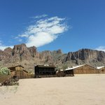 Goldfield Ghost Town w/Superstition Mt