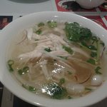 Chicken pho soup yummy