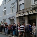 Castle fish and chips