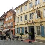 Отель Goldener Hirsch .Ротенбург-на-Таубере