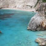 Blue Agean sea again and again