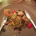 Yummy spaghetti salad