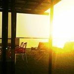 Sunrise at the balcony