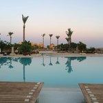 Many beautiful pools