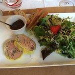 Foie gras excellent !