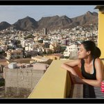 Mindelo from the terrace