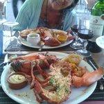 homard dégusté