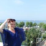 Прекрасный вид с террасы на Мраморное море