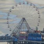 The big wheel on Central Pier as seen from the tower