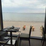 Restaurantbereich - schöner Ausblick!