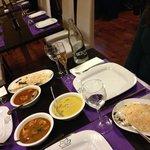 Menú típico. Arroces y curry