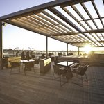 Enjoy the views from the rof top terrace, the perfect place a sunny day!