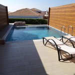 Prive Zwembad kamer adults only gedeelte