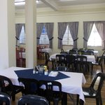 Our Dinigroom which can also be used as a conference area for small groups