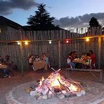 Our Boma, ideal for outdoor get togethers and Bonfires