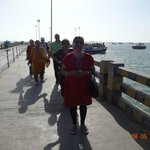 On way to Boat boarding place