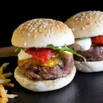 mini hamburguesas de wagyu