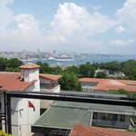View from the roof, Bosporus