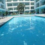 Such a pretty pool area