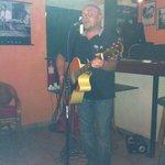 Sean Duffy at Premier Bar Sidari