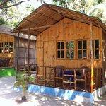 Ocean breeze garden huts by the sea