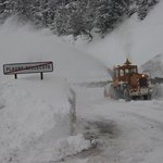 Digging us out at Plagne Bellecote