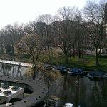 Ausblick vom Quentin Hotel Amsterdam