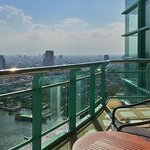 our balkony at 34th floor