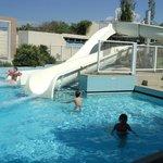 piscine toboggan