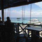 View from the restaurant verandah