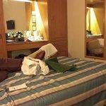 Onze kamer in het St. Giles Hotel