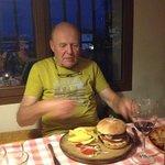 a fine hamburger