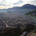 La longue avenue de Grenoble à Pont de Claix