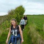 Coastal path from Moelfre to Lligwy beach.