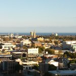 View from balcony over South Melbourne