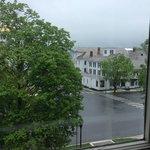 View across the street (rainy day)