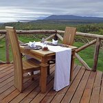 Escarpment Luxury Lodge - Dinner Views