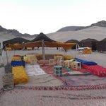campo Berbero nel deserto