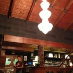 ресторан очень просторный и уютный