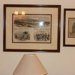 Photos inside room
