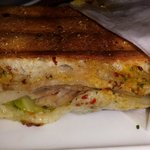 Mini Cuban sandwich