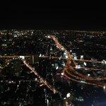 Ночной Бангкок с верху