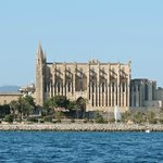 The Cathedral approaching from the Sea