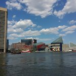 A beautiful day at the Inner Harbor