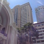 Caravelle hotel from the Opera House